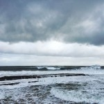 Nubarrones sobre un Cantábrico revoltoso