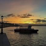 Amanece en la bahía de Santander. Bienvenido marzo