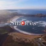 Suances, Tagle y la playa de Los Locos desde las alturas