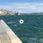 Arrecia el sur en la bahía de Santander