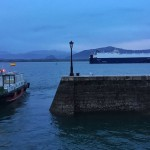 Tráfico en la bahía de Santander