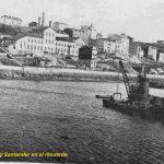 Santander cuando Puertochico estaba en construcción y Castelar era zona fabril