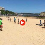 La vida en Santander: De palas y playa