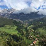 Los Picos de Europa nos dan los buenos días. Hoy estamos en Liébana