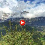 Un vistazo a los Picos de Europa con el trinar de los pájaros como banda sonora