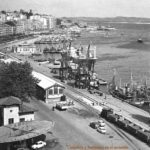 Santander cuando el puerto estaba junto a la plaza de las farolas, a principios y finales del siglo XX