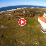 La Virgen del Mar a vista de dron