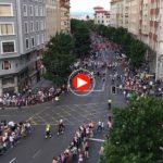 Ambientazo minutos antes del Chupinazo de la Semana Grande de Santander 2016