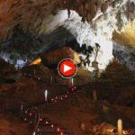 Nando Agüeros en la Cueva del Soplao: Viento del Norte