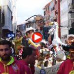 El desfile de carrozas de Reinosa