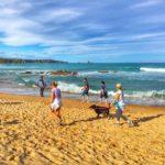 Liencres, día espectacular de sur y surf