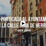 La vida en Santander: De la Porticada al Ayuntamiento por Juan de Herrera