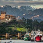 Hay días en los que San Vicente y los Picos de Europa se encuentran en el mismo plano