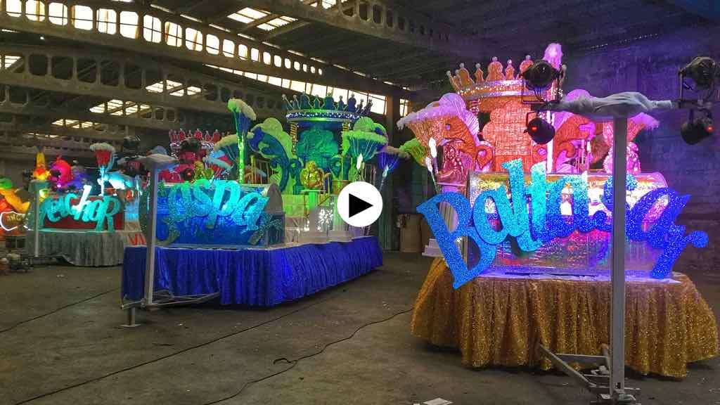 Carrozas De Reyes Magos Fotos.Carrozas Reyes Magos Santander El Tomavistas De Santander