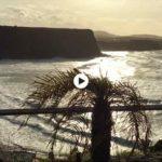 Una pleamar ventosa en la playa de Los Locos
