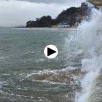 La mar está que se sale en esta pleamar con temporal