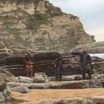 La playa de Langre se convierte en la mismísima Patagonia para el rodaje de Conquistadores: Adventum