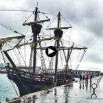 La Nao Victoria hace escala en Santander