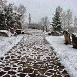 25 de marzo y nevando en Olea. Sube al sur de Cantabria a verlo con tus propios ojos