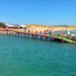 Arranca el servicio de lanchas a El Puntal