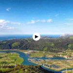 Time lapse desde pico Candiano de toda la desembocadura del Asón