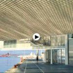 La bahía tiene su propia instalación en el Centro Botín. Reflejos que inspiran