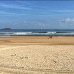 Al galope por la playa de Somo