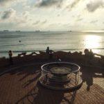 El abra del Sardinero, a rebosar de buques fondeados