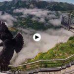 La niebla juega con los Picos de Europa