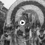 La batalla de flores de Laredo en 1953