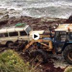 A la caza, contra viento y marea, de caloca en La Maruca