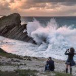 Estoica Costa Quebrada ante los azotes del temporal