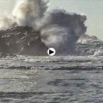 Primer gran temporal del otoño en Virgen del Mar