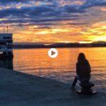Imposible cansarse de los amaneceres de sur que nos regala Santander