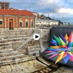 El street art de Okuda toma Santander