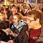 Los torrelaveguenses cantan a la Navidad junto a su banda de música
