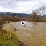 ¡Cómo bajan los rios por  Limpias, Ampuero y Marrón!