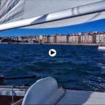 Tarde de regatas en la bahía de Santander