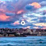 Nubes que se visten de mil colores para ver amanecer