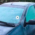 ¡Vaya helada ha caído en Cantabria!