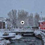 Serenita cae la nieve en Reinosa