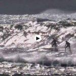 La ola de Santa Marina es adrenalina pura