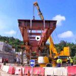 El nuevo puente de Golbardo estará listo a finales de agosto