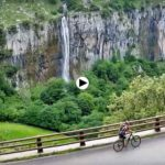 La cascada del Asón está a pleno rendimiento