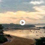 La quietud de la bahía