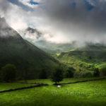 Lunada, con ese verde Cantabria