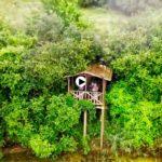 Droneando por el Molino de Santa Olaja en Isla