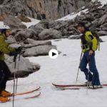 Esquiando en Picos de Europa, hace apenas diez días