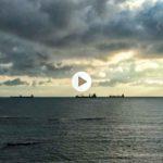 Amanecer con el susurro del mar
