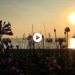 Amanecer con sol entre los Baños de Ola
